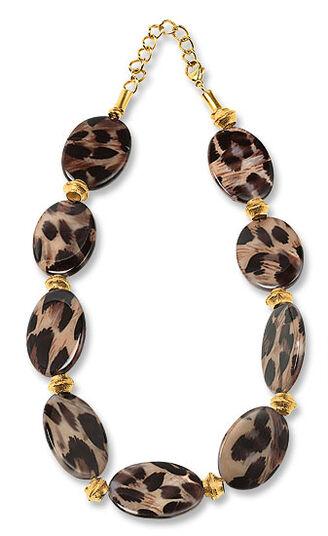 """Petra Waszak: Necklace """"Leopard"""""""