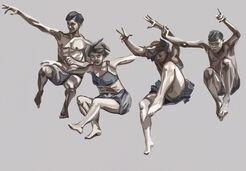 """Bild """"danse expressive"""" (2013), Exklusiv-Edition für ARTES"""