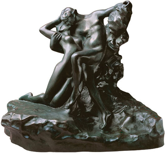 "Auguste Rodin: ""Eternal Springtime"", bronze"
