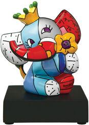 "Porzellanskulptur ""Spring Elephant"""