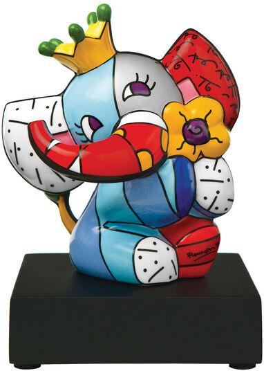 "Romero Britto: Porzellanskulptur ""Spring Elephant"""
