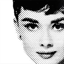 """Bild """"Audrey, Silber"""" (2015), Exklusiv-Edition für das KUNSTHAUS ARTES"""