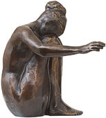 "Sculpture ""Melancholy"", bronze"
