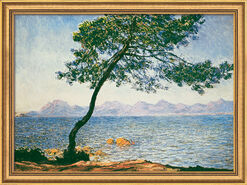 "Painting ""Antibes"" (1888), framed"