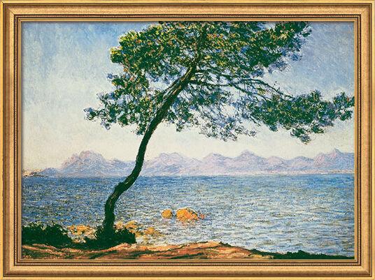 "Claude Monet: Bild ""Antibes"" (1888), gerahmt"