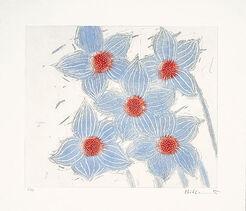 """Bild """"Fünfmal Blau"""" (2000)"""