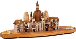 Candle holder 'Dresden Frauenkirche'