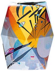 "SNUG.VASE LOW: ""Wassily Kandinsky - Dominant curve"" (1936)"