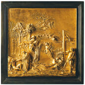 "Wall Relief ""Creation of Eve"""