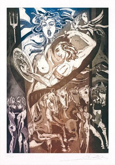 "Alfred Gockel: Bild ""Medusa"" (2010), ungerahmt"