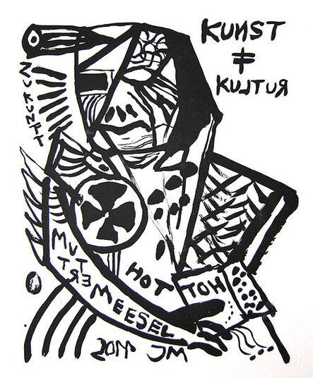 """Jonathan Meese: Bild """"MUTTER DER DISZIPLIN: ANGETRETEN!"""" (2011)"""