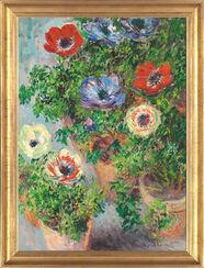 """Bild """"Anemonen in einer Vase"""" (1885), gerahmt"""