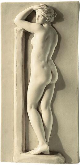 """Johann Gottfried Schadow: """"Female Nude side view"""", 1812"""