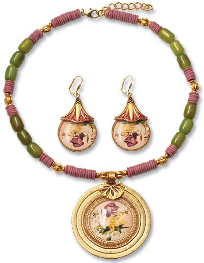 "Petra Waszak: Jewelry Set ""Hommage à Manet"""