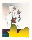 "Picture  ""Euphrosyne"" - from the Graphic Sequence  ""Three Graces"""
