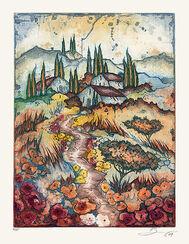 """Bild """"Südliche Landschaft II"""" (2009), ungerahmt"""
