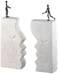 """Sculpture """"Desire"""", bronze on stone pedestal"""