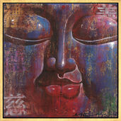 "Picture  ""Little Buddha, blue"""