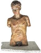 """Skulptur """"Männlicher Torso"""" (2011), Bronze"""