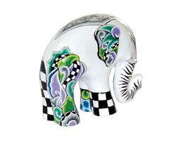 """Elefant """"White Tusker"""" (Größe S, Höhe 15 cm)"""