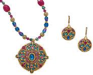 "Jewelry set ""Horizon"""