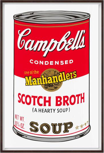 "Andy Warhol: Bild ""Warhols Sunday B. Morning - Campbell´s Soup - Scotch Broth"" (1980er Jahre)"