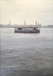 """Bild """"Hamburg im Gegenlicht"""" (2017) (Unikat)"""