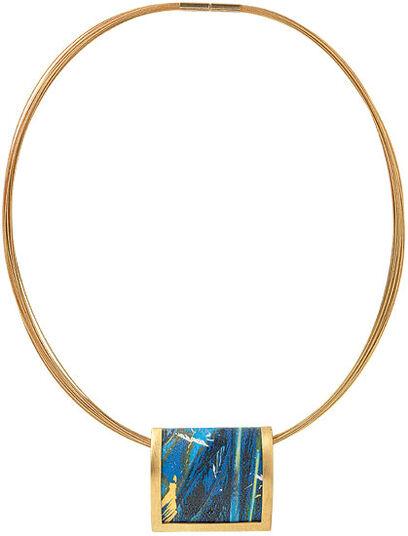 "Kreuchauff-Design: Necklace ""Magic Blue"""