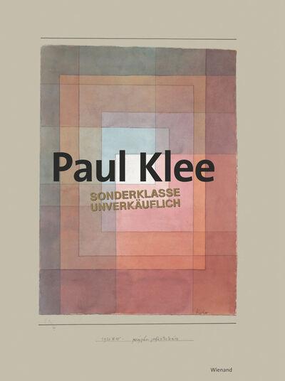 """Paul Klee: Bildband """"Sonderklasse - Unverkäuflich"""""""