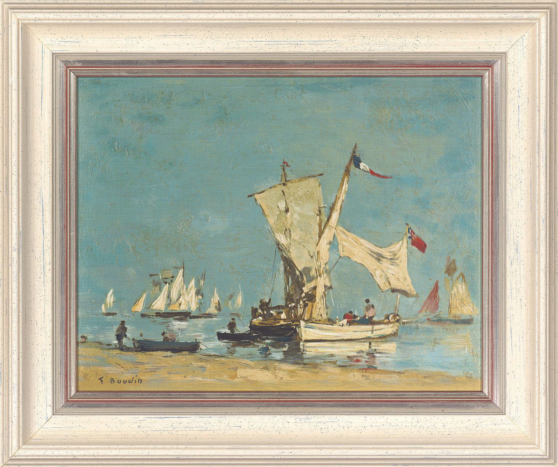 Painting 'Sailing-Boats'