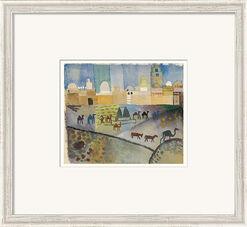 """Bild """"Kairouan I"""" (1914), gerahmt"""