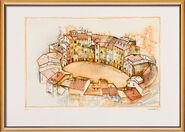 """Bild """"Lucca"""" (1998), gerahmt"""