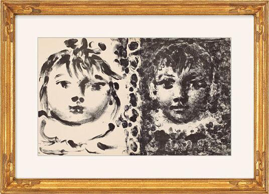 "Pablo Picasso: Bild ""Paloma & Claude"" (1950)"