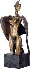 """Sculpture """"Siren"""", bronze"""