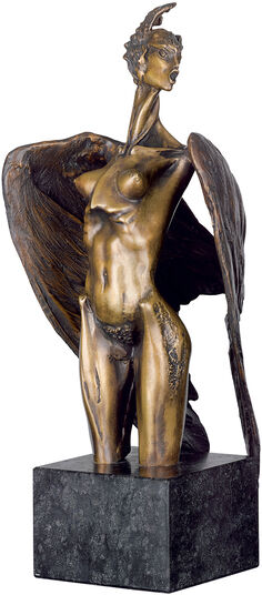 "Nikolay Anev: Sculpture ""Siren"", bronze"