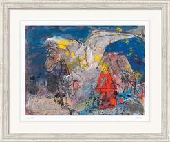 """Bild """"Pegasus"""" (2012), gerahmt"""