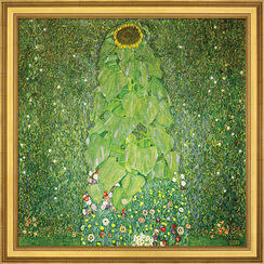 """Bild """"Die Sonnenblume"""" (1907), gerahmt"""