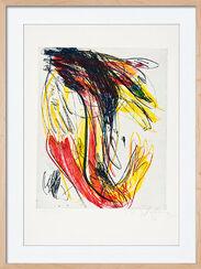 """Bild """"Hommage à R. D. Brinkmann V"""" (1996), gerahmt"""