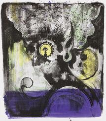 "Bild ""Ohne Titel (lila)"" (2013)"