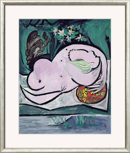 """Pablo Picasso: Bild """"Akt im Garten"""", gerahmt"""