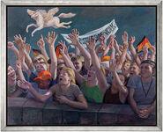 "Bild ""Wir sind das Volk"" (2010) (Original / Unikat), gerahmt"