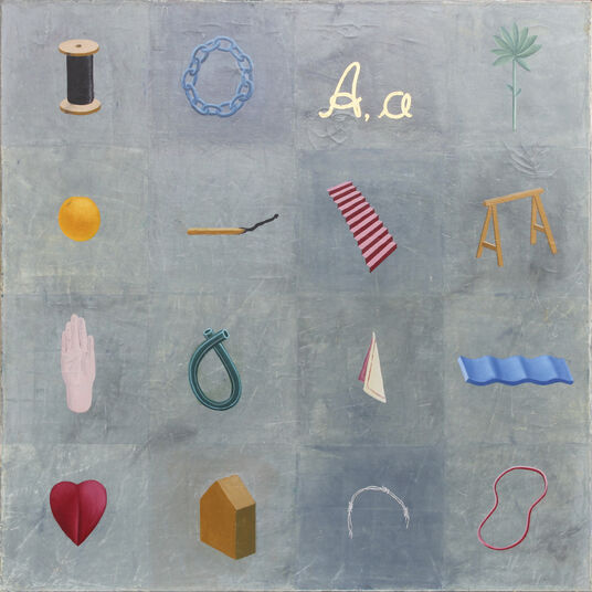 "Martin Noll: Bild ""16 Elemente"" (1998) (Unikat)"