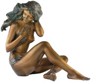 "Sculpture ""In the twilight"", bronze"