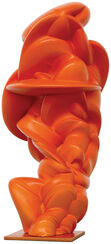 "Skulptur ""Loop orange"" (2014)"
