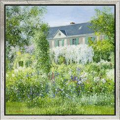 """Bild """"La Maison de Claude Monet à Giverny"""" (Original / Unikat), gerahmt"""