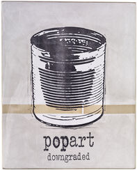 """Objekt """"Popart downgraded"""" (2017) (Unikat)"""