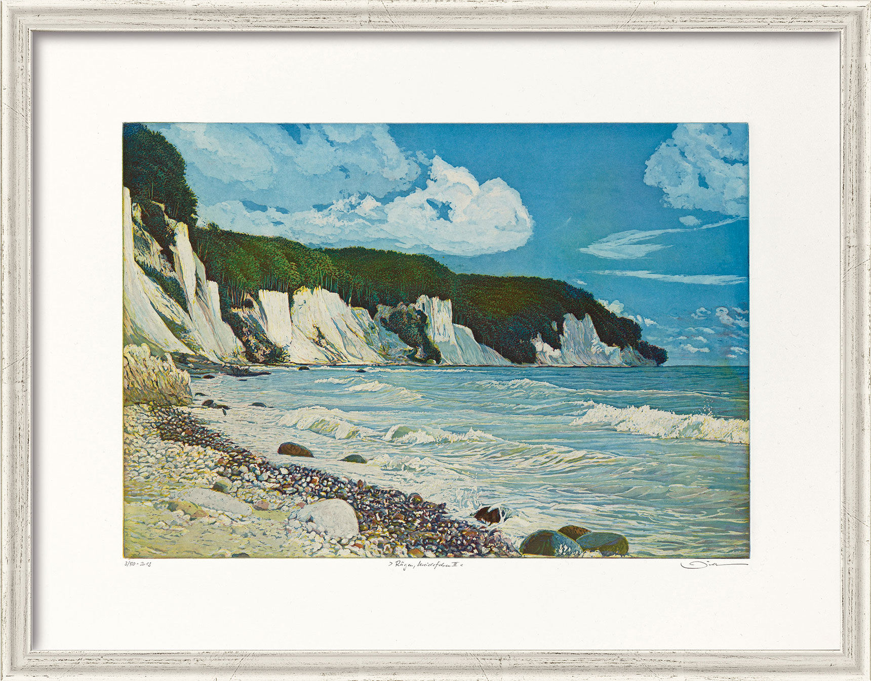 "Picture ""Ruegen chalk cliffs III"" (2012)"