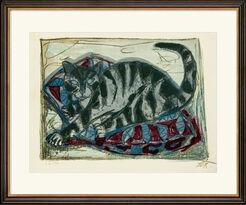 """Bild """"Katze"""" (1959)"""