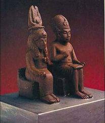 Amenhotep III. and Queen Tiye