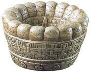 Aztekische Opferschale